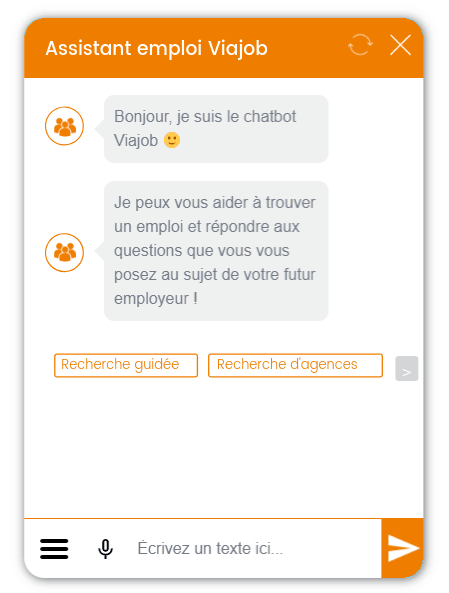 Chatbot candidat